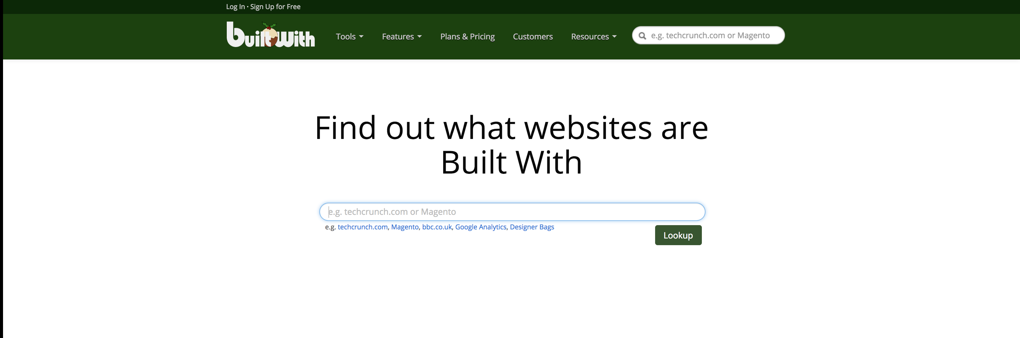 BuiltWith: eccome lo strumento per scoprire i dati di un sito e se fatto con WordPress