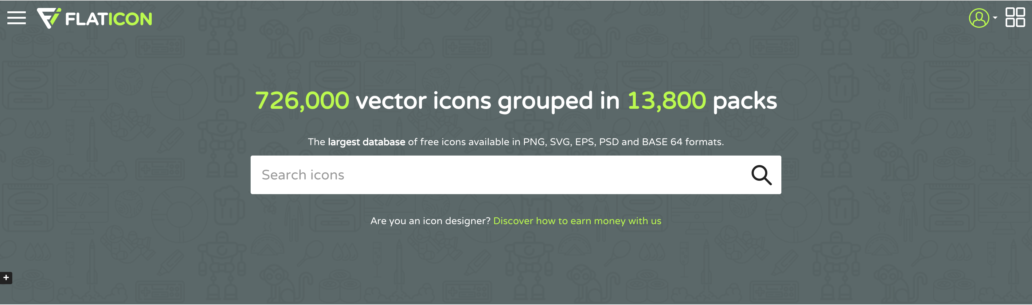 FlatICON … per il download di ICONE