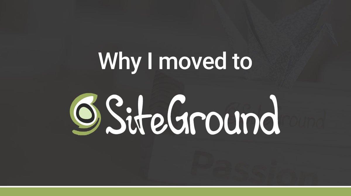 spostarsi su siteground